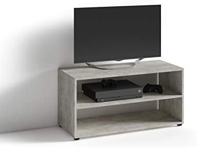 Homexperts Vancouver - Mueble para televisor (hormigón, 90 x 45 x 39 cm): Amazon.es: Hogar