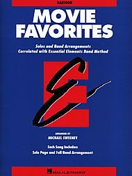 Movie Favorites - Bassoon - Essential Elements Band Folios - (Essential Elements Correlated Arrangements)