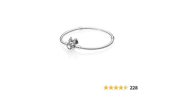 PANDORA Disney, Shimmering Minnie Portrait Bracelet 925 Sterling Silver