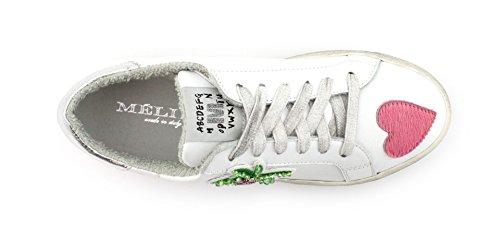 Meline D.luxe Sneaker Bup1008 Galaxy Bianco-xer Miami Roze / Graff