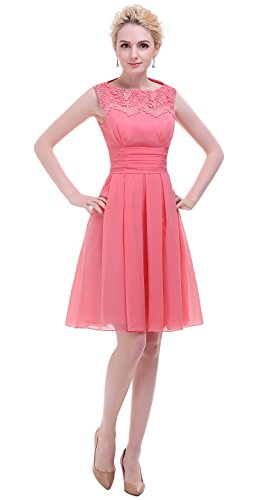 Esovr Appliques Neckline Dresses Bridesmaid product image