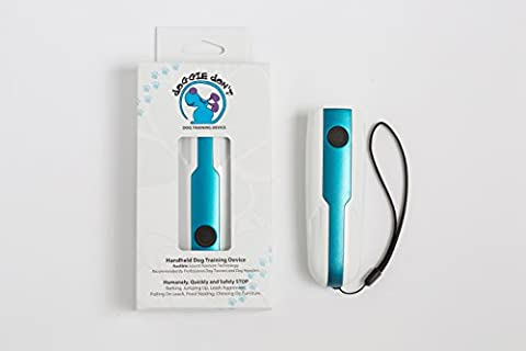 THE DOGGIE DON'T DEVICE- Handheld Bark Deterrent and Training Aid- Loud Patented Sound Stops Barking and Other Unwanted Behaviors- Safe, Humane, No - Choke Horn