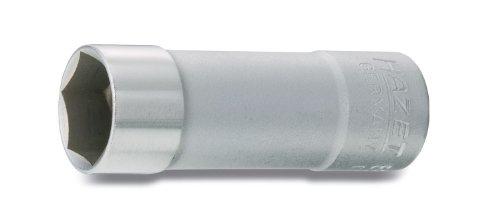 (HAZET 880AMGT 64 mm Spark Plug Socket - Chrome-Plated/Polished)