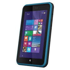 Linx 8 inch Tough Tab 8 (Black) with Barcode Scanner (Intel