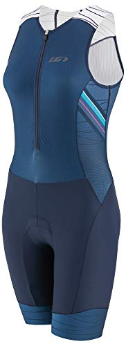 Louis Garneau Women's Pro Carbon Padded, Compression, Sleeveless Triathlon Bike Suit, Lazer, ()