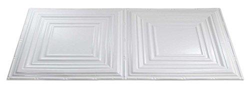 Fasade Easy Installation Traditional 3 Gloss White Glue U...