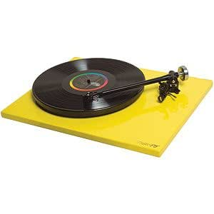 Rega - P3-24 Colored Plinth with black TTPSU