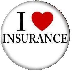 I LOVE INSURANCE MAGNET Heart ()
