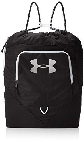 Under Armour Undeniable Sackpack, Black (001)/Silver, One Size Fits All