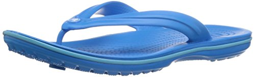 crocs Unisex Crocband Flip Flop, Ocean/Electric Blue, 7 US Men/9 US Women