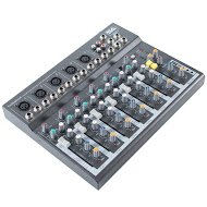 Seismic Audio - Slider7-7 Channel Mixer Console with USB Interface by Seismic Audio