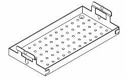 Instrument Tray (Large) for Pelton & Crane PCT141