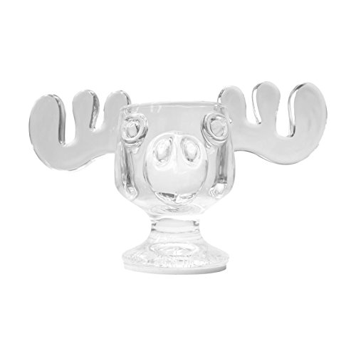 National Lampoons Christmas Vacation Glass Moose Mug with Light (1-Pack) (Mugs 1 Christmas)