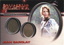 [Battlestar Galactica Season 4 DC20 Jean Barolay Costume Card] (Galactica Costumes)