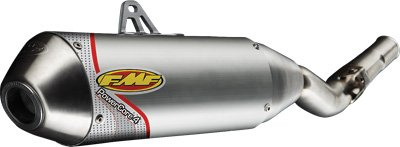 Aluminum FMF 05-12 Honda CRF70F Powercore 4 Complete Exhaust with Stainless Hi-Flo Header