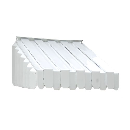 Awning Style Windows (Americana Building Products Aluma Vent Louvered End Style Awning, 24-1/2 by 29 by 65-Inch)