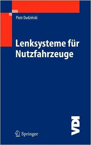 Cover des Buchs: Lenksysteme für Nutzfahrzeuge (VDI-Buch)