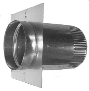 Superior Midwest Ducts GR45 6 6u0026quot; Roof Vent Adapter ...