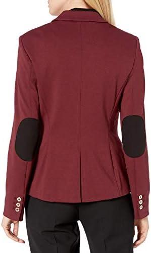 Tommy Hilfiger Women's One Button Blazer