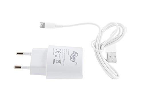 CARICATORE ALIMENTATORE USB CASA CON CAVO DATI IPHONE 5 6 1.5A OZ-046 DR
