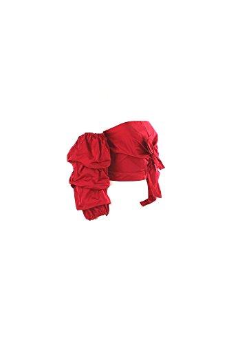 Top Donna Pinko 40 Rosso Zodiac Autunno Inverno 2016/17