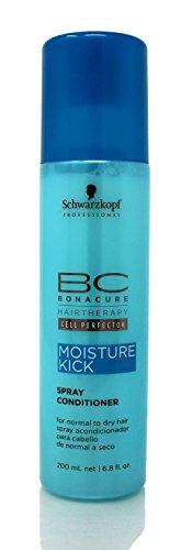 Schwarzkopf BC Moisture Kick Spray Conditioner (For Normal to Dry Hair) 200ml/6.8oz - Schwarzkopf Moisture Kick