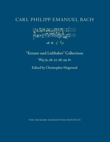 Kenner und Liebhaber Collections (CPEB:CW Offprints) (Volume 21)