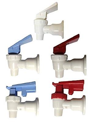 AquaNation BPA Free FDA Grade Sunbeam Dispenser Replacement Cooler Faucet Water Bottle Jug Reusable Spigot Spout Leak Proof Water Beverage Lever Pour Valve Water Crock Water Tap