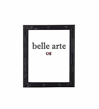 Modern Asian Style Black Laquered Bamboo Picture Frame (4x6 Inch)