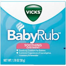 - Vicks BabyRub Soothing Ointment - 1.76 oz, Pack of 5