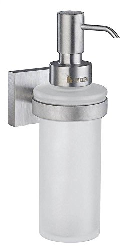 - Smedbo SME RS369 Soap Dispenser Wallmount, Brushed Chrome,
