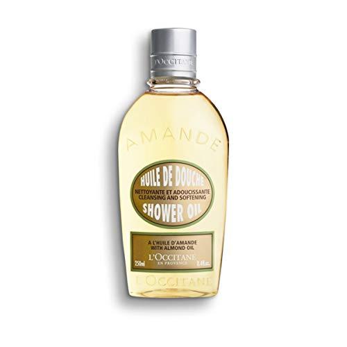 L'Occitane Cleansing & Softening Almond Shower Oil, 8.4 fl. oz. (Wash French Body)