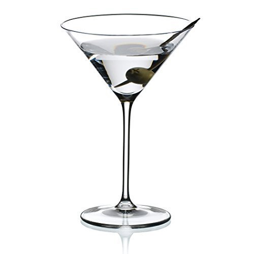Riedel Vinum XL Leaded Crystal Martini Glass, Set of 6