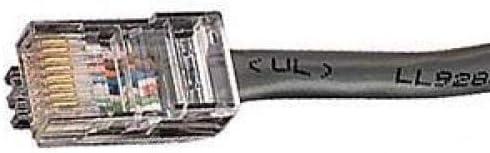Black Box Corporation 2FT Black CAT6 550MHZ Patch Cable UTP cm SNAGLESS