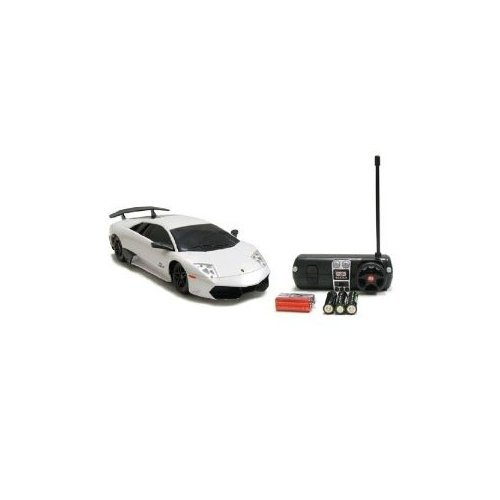 1:24 Licensed Lamborghini Murcielago LP 670-4 SV Electric RTR Remote Control RC Car (Color May Vary) ()
