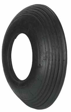 Arnold 480/400 x 6-Inch Replacement Off-Road Tire with Ribbed (400x 6 Ribbed)