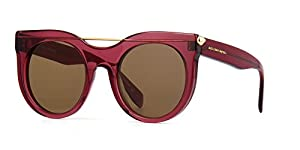 Alexander McQueen 004 Purple 0001S Cats Eyes Sunglasses Lens Category 3