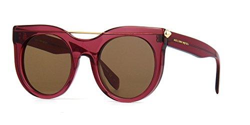 Alexander McQueen 004 Purple 0001S Cats Eyes Sunglasses Lens Category - Mcqueen Eye Frames Alexander