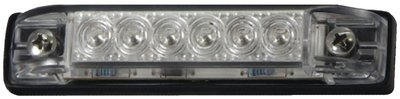 T-H Marine LED-51805-DP LED Slim Line Utility Strip Lights, 6 - Clear