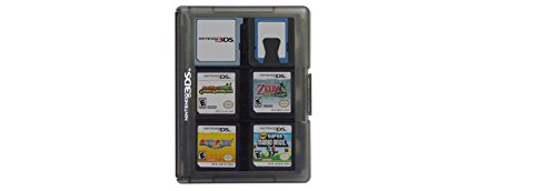 Aeropost Com Jamaica Nintendo 3ds Game Card Case 24 Black