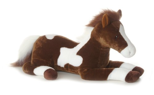 Aurora World Super Flopsie Plush Paint Horse, 28