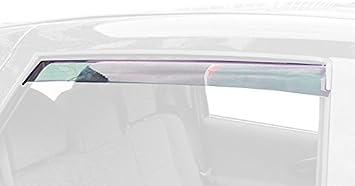 hinten ClimAir Windabweiser Farbe: rauchgrau -CLI0044244 -