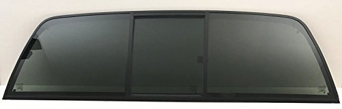 NAGD Fits 1973-1979 Ford F-Series Pickup Super Duty F100 F150 F250 F350 F600 F700 F800 Rear Sliding Window Glass Back Slider 3 Panel
