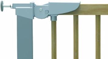 BabyDan Avantgarde Barri/ère /à Fixation par Pression pour Porte//Escalier H/être//Argent 71,3-91,1 cm