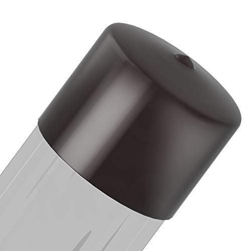 Round Vinyl Caps 3.500 X 1-1/2 Std Black Cap MOCAP RVCC9055-10 (qty40) by MOCAP (Image #1)