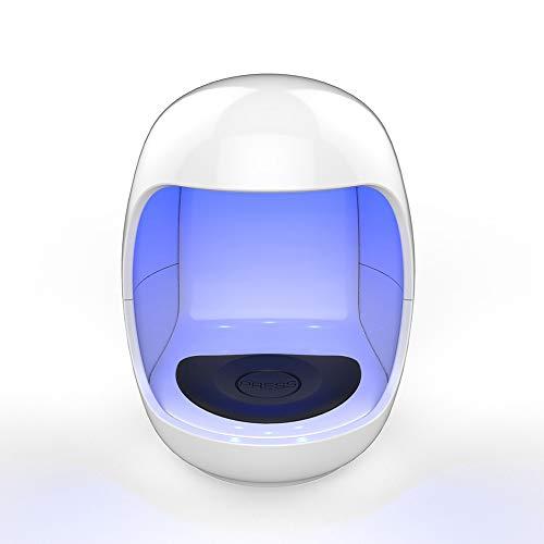 (UV Nail Lamp Mini Nail Dryer Curing Lamp for Fingernail & Toenail Gels Based Polishes,3 W,45s 60s Timer .Yeenor)