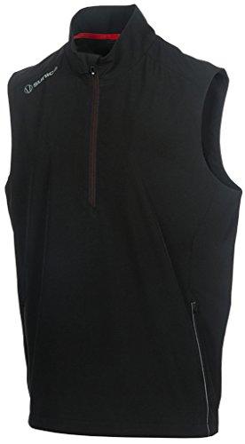 (Sunice Kent X20 Half-Zip Wind Vest Black Medium)