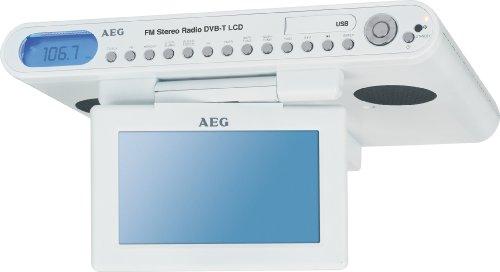 AEG KRC 4330 Küchenunterbauradio (17,5 cm (7 Zoll) LCD-Fernseher ...