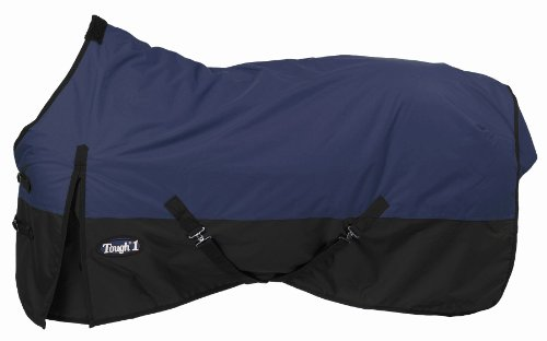 Tough 1 600 Denier Waterproof Horse Sheet, Navy Blue, 72-Inch ()