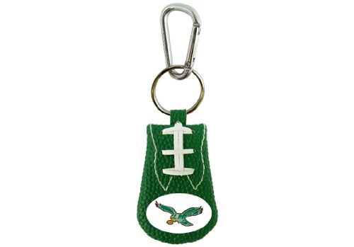 NFL Philadelphia Eagles Retro Team Color Football Keychain